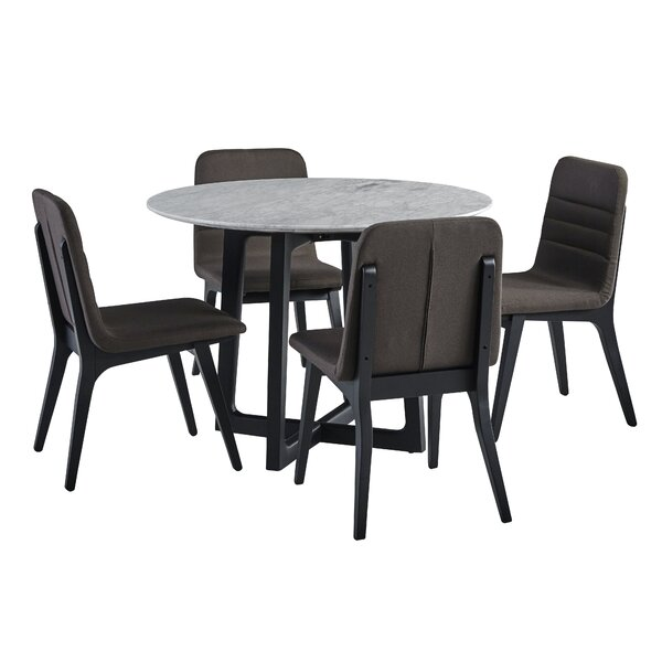 Braymer 5 Piece Dining Set by Brayden Studio