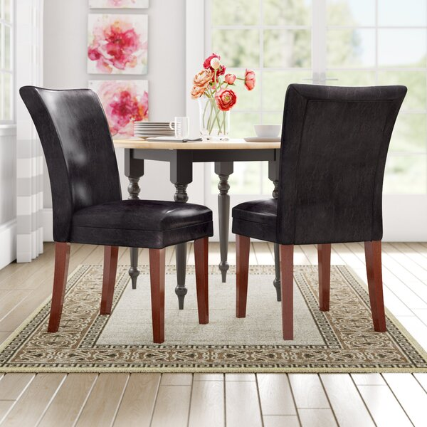 Hixon Parson Chair (Set of 2) by Three Posts