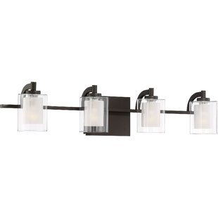 Buying Aldrich 4-Light Vanity Light By Wade Logan