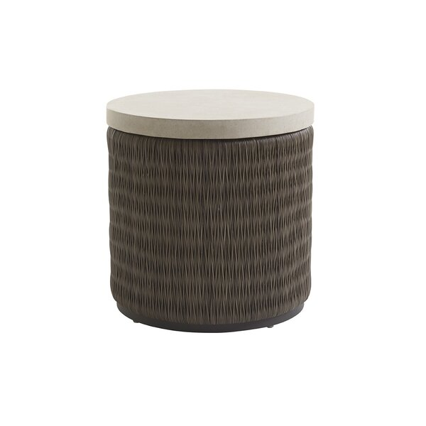 Cypress Point Ocean Terrace Round End Table by Tommy Bahama Outdoor