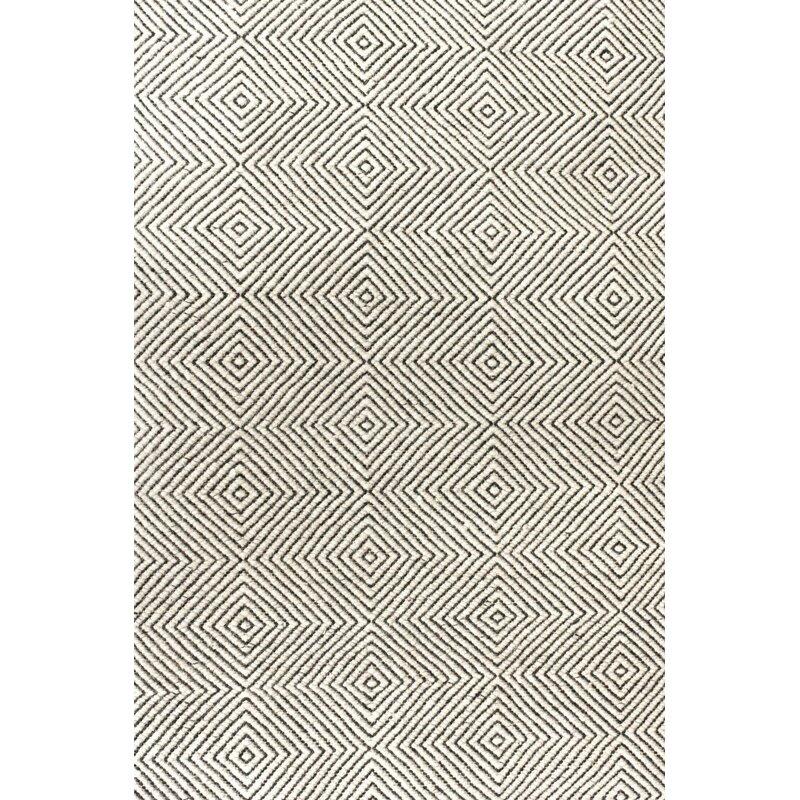 Marcelo Geometric Handmade Tufted Ivory Area Rug Reviews Joss Main