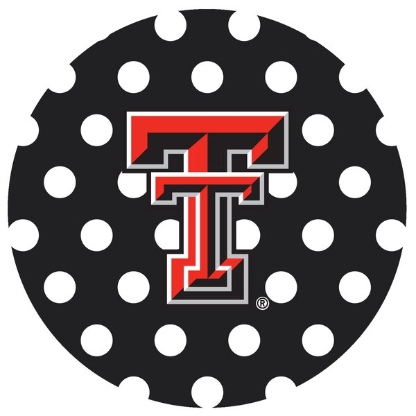 Texas Tech University Dots Collegiate Coaster (Set of 4) by Thirstystone