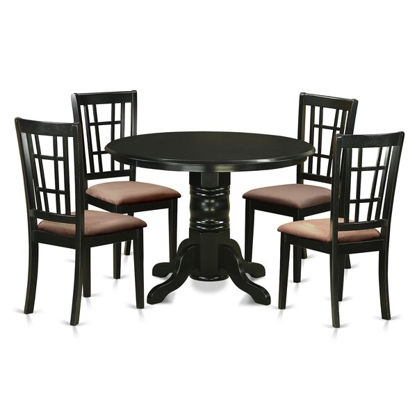 Sherlock 5 Piece Dining Set by August Grove