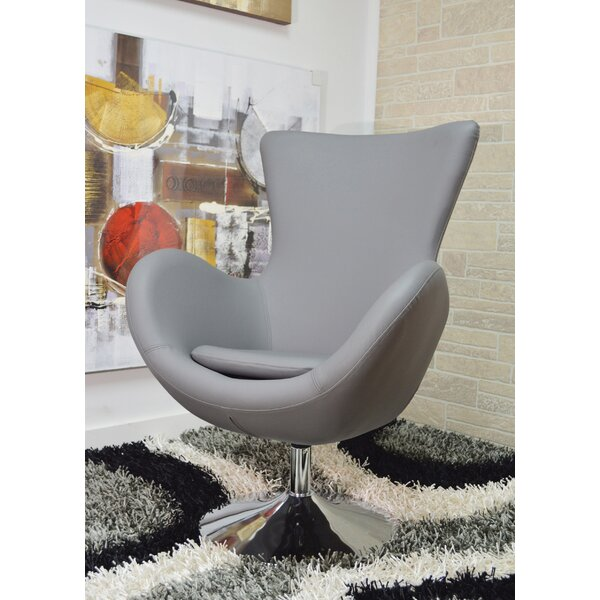 Matina Swivel Lounge Chair by Orren Ellis