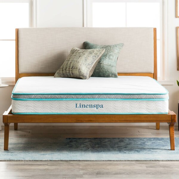 8 Firm Innerspring Mattress by Linenspa