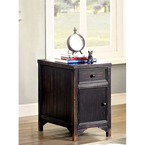Reck End Table with Storage by Gracie Oaks