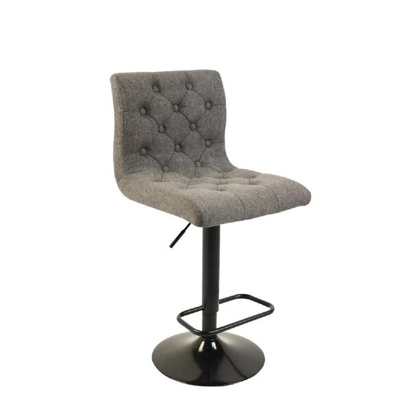 Storey Adjustable Height Swivel Bar Stool by Wrought Studio