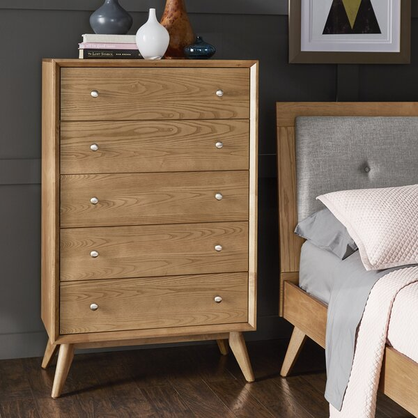 Angelo 5 Drawer Chest by Langley Street