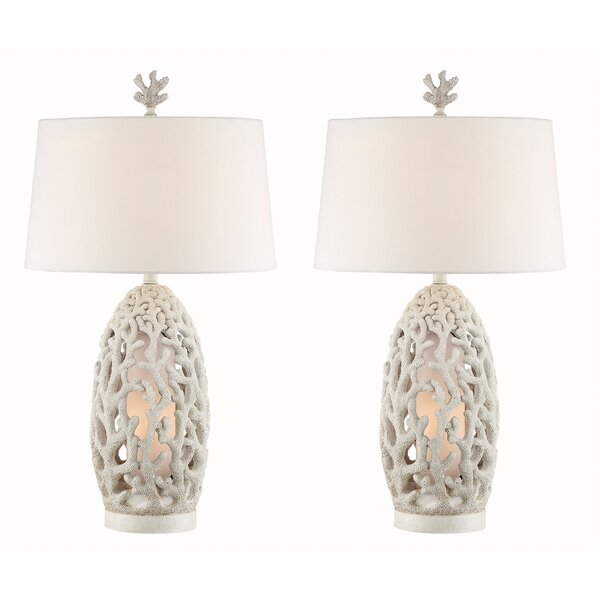 Cosette 33 Table Lamp (Set of 2) by Highland Dunes