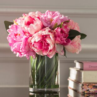 All artificial flowers youll love wayfair peony bouquet mightylinksfo