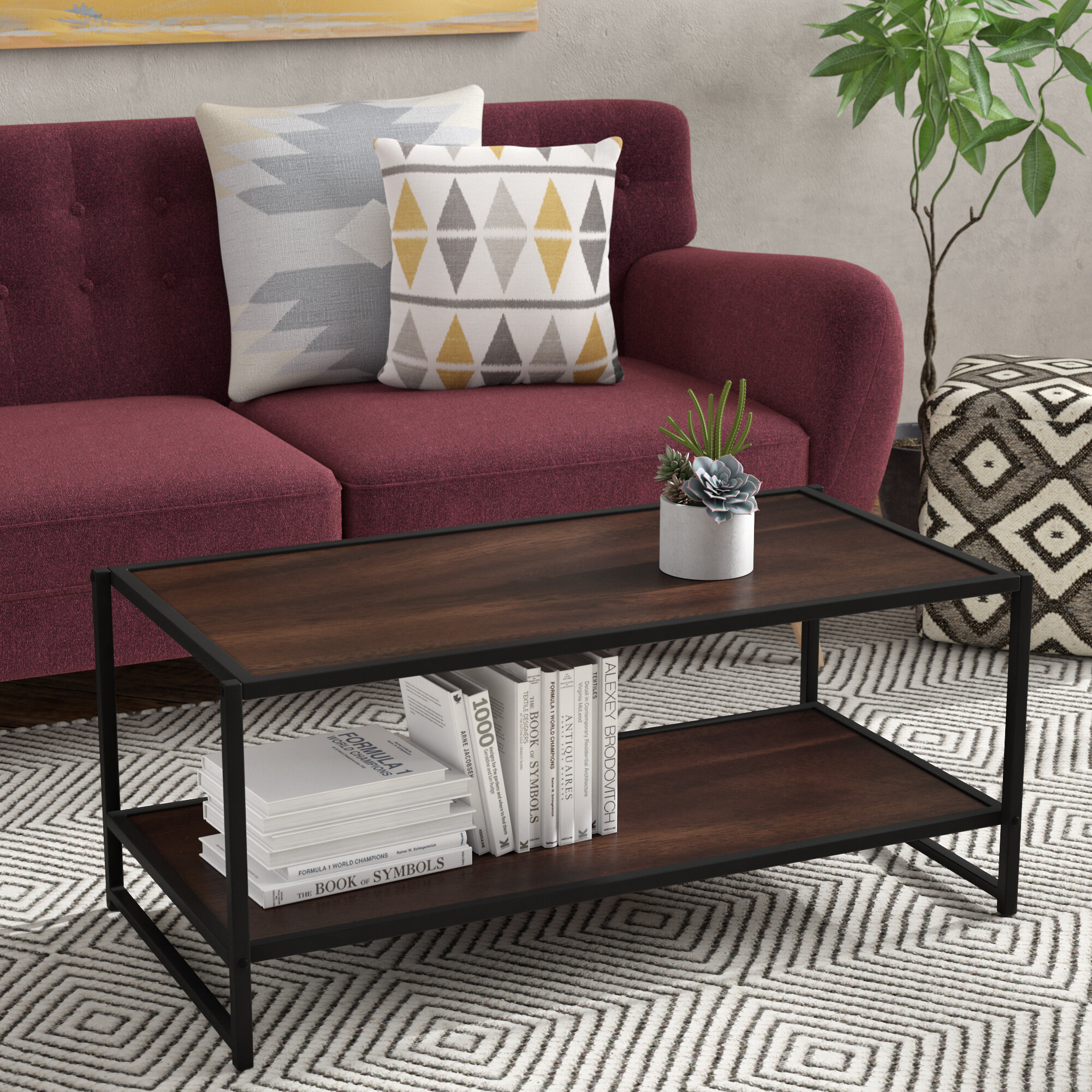 coffee room hooker iteminformation cocktail solana living furniture table rectangle
