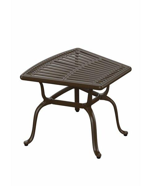 Spectrum Cast Aluminum Side Table by Tropitone