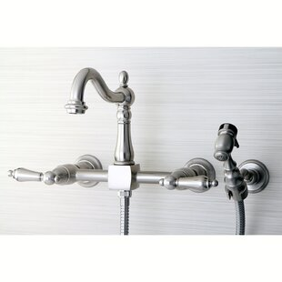 Wall Mount Faucet With Sprayer Wayfair