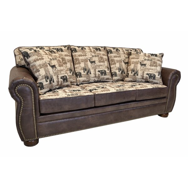 Spoffo Classic Lodge Sofa by Loon Peak