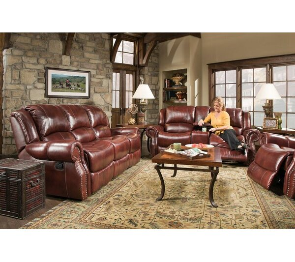 Pelletier Reclining Configurable Living Room Set by Canora Grey