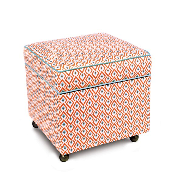 Suwanee Lobel Cube Ottoman by Eastern Accents