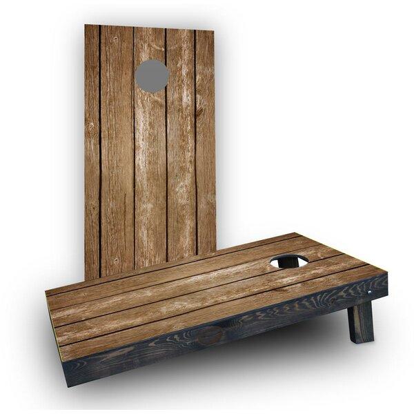 Blank Wood Slat Cornhole Boards (Set of 2) by Custom Cornhole Boards