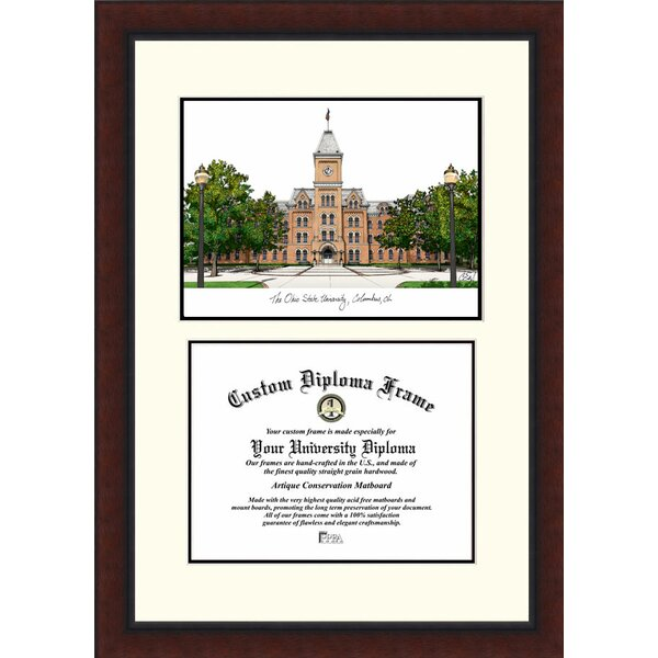 NCAA Ohio State University Legacy Scholar Diploma Picture Frame by Campus Images