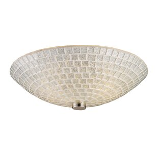 Inexpensive Roehampton 2-Light Semi Flush Mount By Beachcrest Home