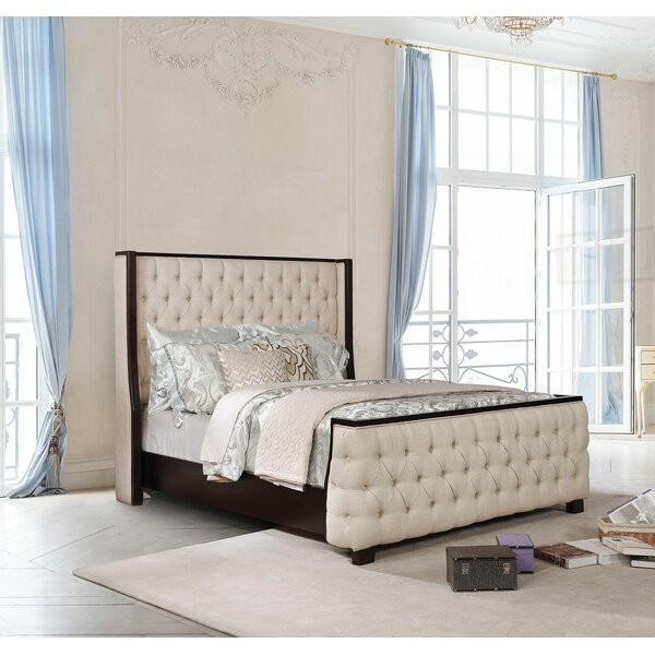 Salcedo Upholstered Standard Bed by Canora Grey