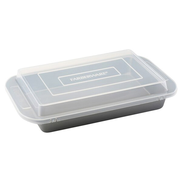 Non-Stick Rectangle Cake Pan by Farberware