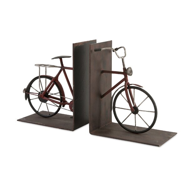 Bicycle Bookend (Set of 2) by Trent Austin Design
