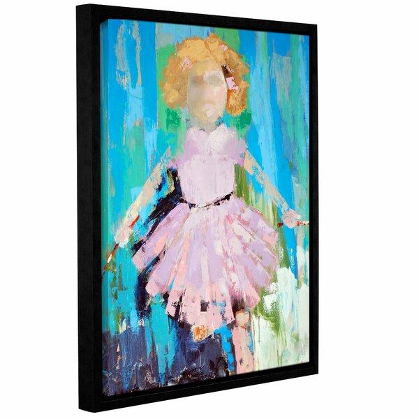 Molena Jump Rope Girl Framed Art by Harriet Bee