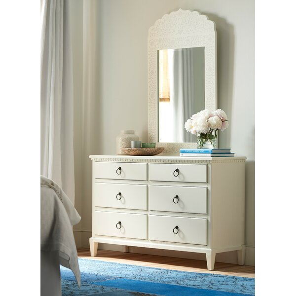 Wisp 6 Drawer Double Dresser with Mirror by YoungHouseLove