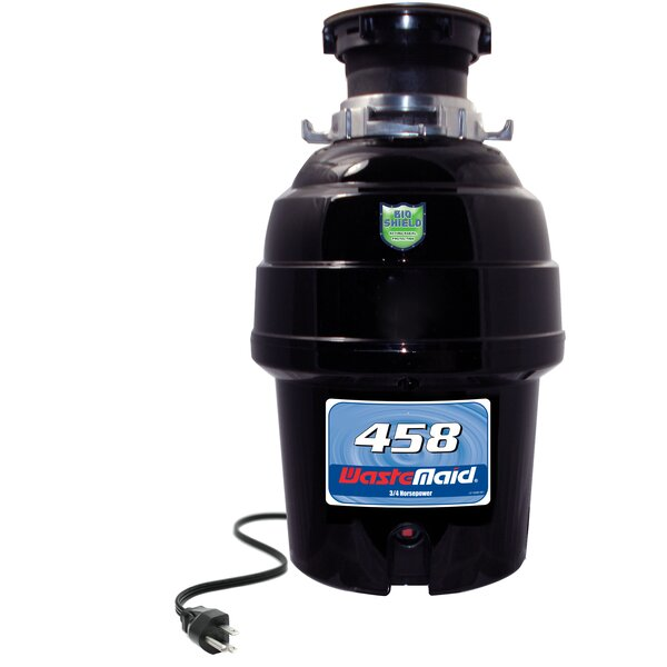Deluxe 3/4 HP Continuous Feed Garbage Disposal by Waste Maid
