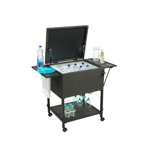 80 Qt. Cooler Cart by Gazebo Penguin