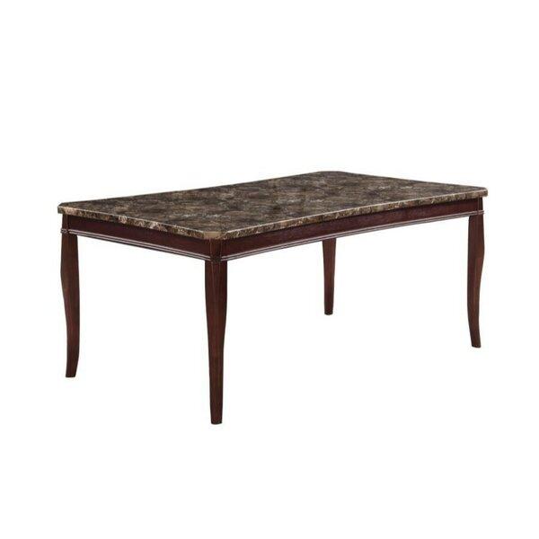 Coledale Marble Top Dining Table by Fleur De Lis Living