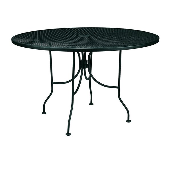 Gustav Metal Dining Table by Charlton Home