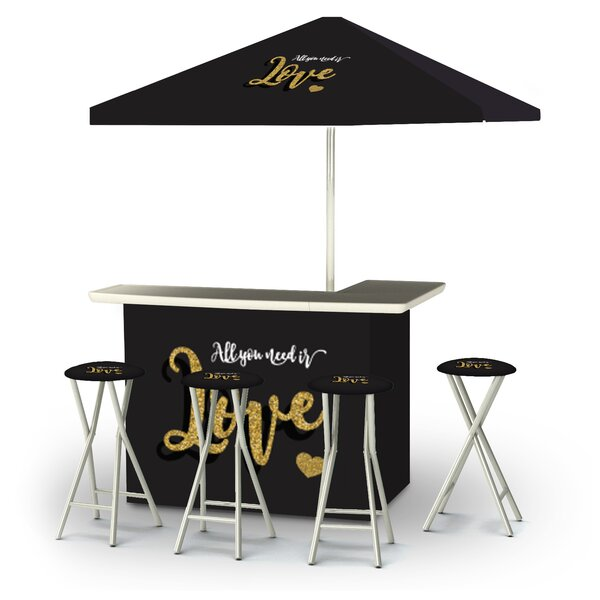 Alea Valentines All You Need Is Love 6-Piece Bar Set by East Urban Home