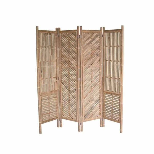 Strauser 4 Panel Room Divider by Bay Isle Home