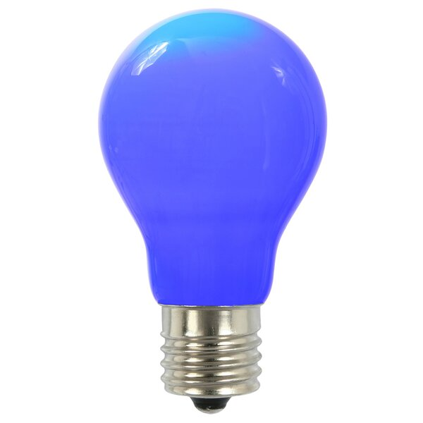 12W Blue E26 LED Light Bulb by Vickerman