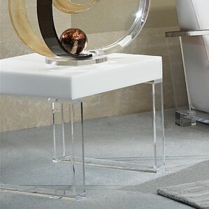Contempo Acrylic End Table by Shahrooz
