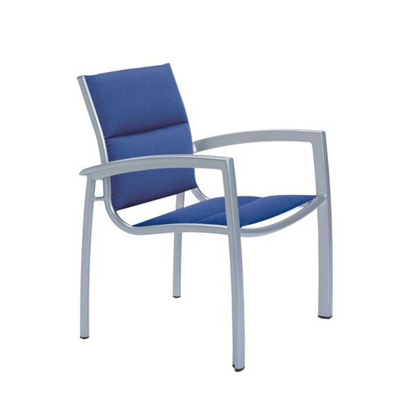 South Beach Stacking Patio Dining Chair by Tropitone