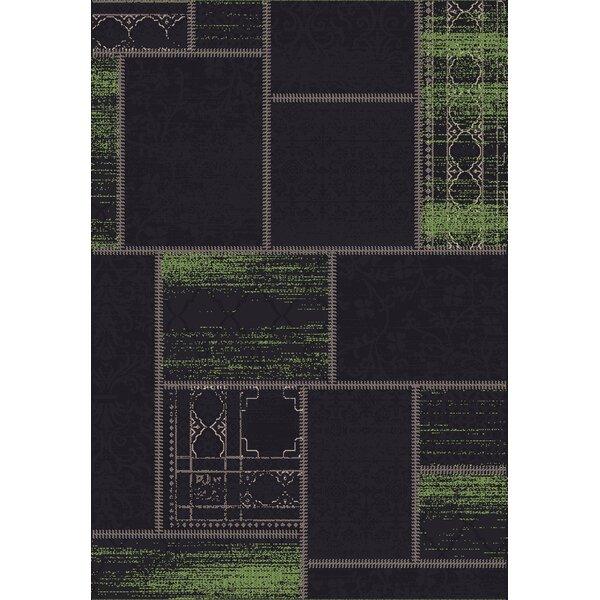 Vintage Black/Green Rug by Dynamic Rugs