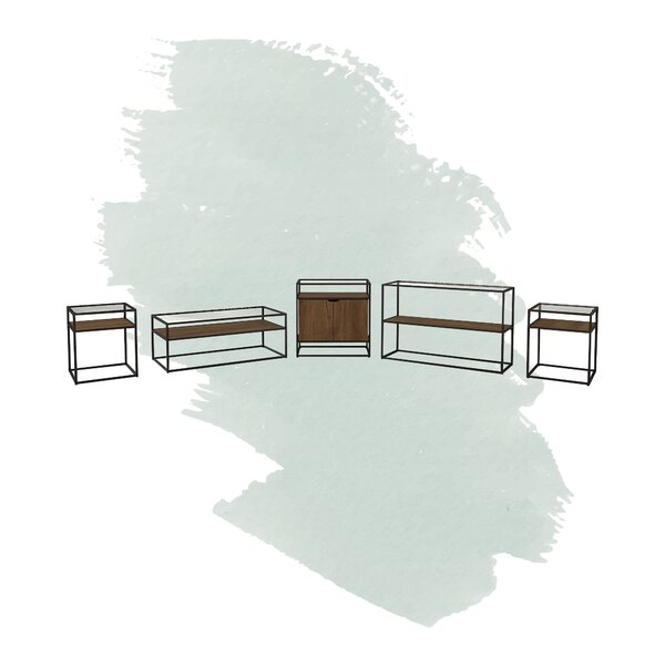 Aliso 5 Piece Coffee Table Set by Foundstone Foundstone™