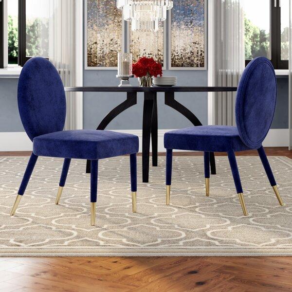 Tepper Upholstered Dining Chair (Set of 2) by Mercer41 Mercer41