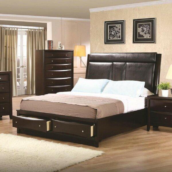 Deeanna Upholstered Storage Platform Bed by Winston Porter