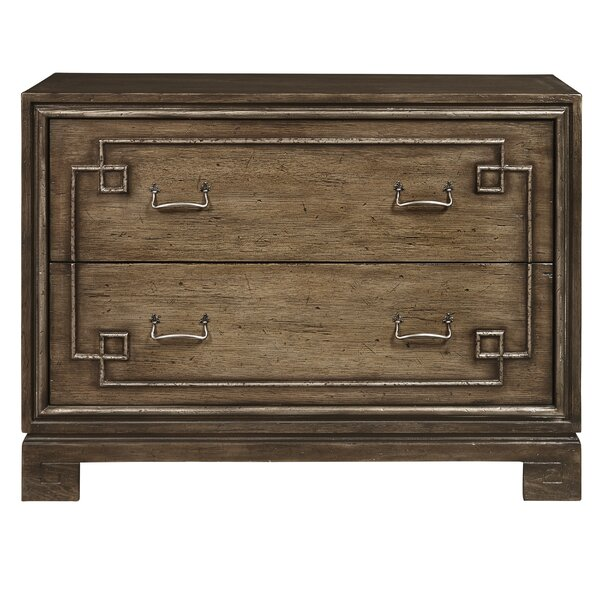 Bettencourt Modern 2 Drawer Accent Chest by Foundry Select