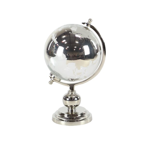Liggett Eclectic Glass and Globe Sculpture by Charlton Home