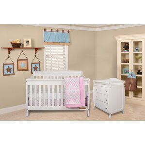 alice grace 4in1 convertible 2 piece convertible crib set - White Baby Crib