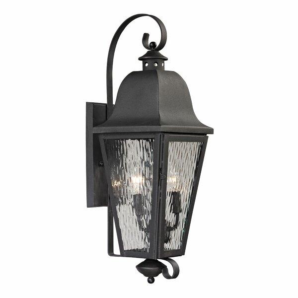 Hammontree 1-Light Outdoor Wall Lantern by Alcott Hill