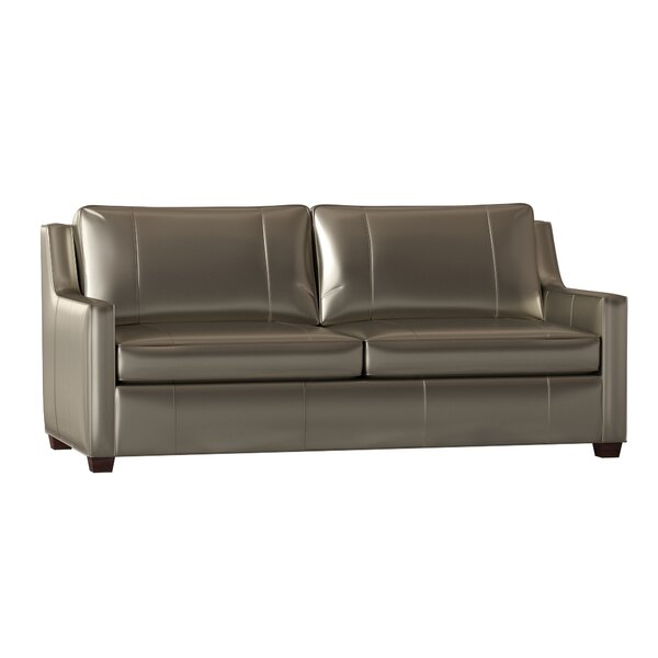 Ward Leather Sofa by Bradington-Young