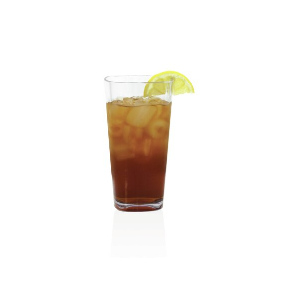 Louanne 23 oz. Plastic Highball Glass (Set of 4) by Mint Pantry
