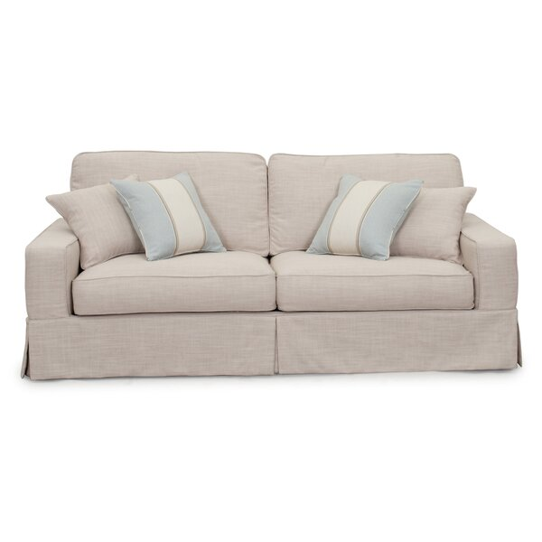 Glenhill Slipcovered Sofa by Rosecliff Heights