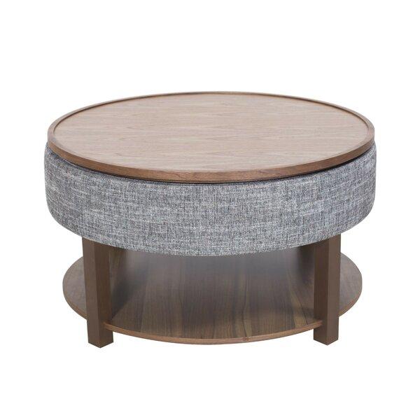 Charleen Lift Top Coffee Table with Tray Top and Storage by Corrigan Studio Corrigan Studio