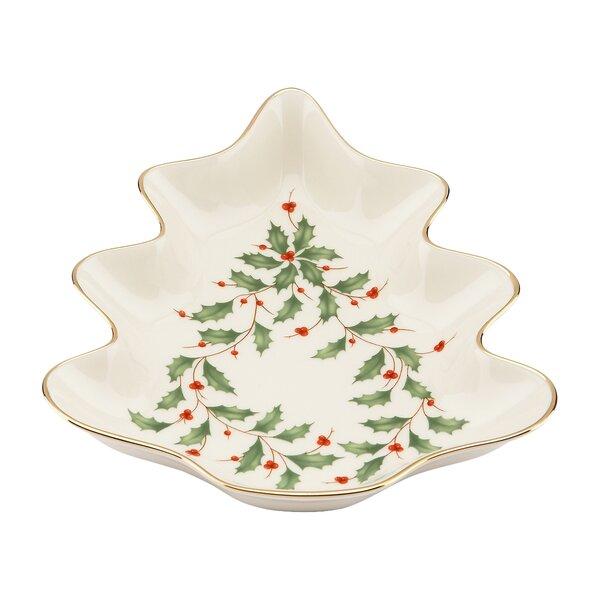 Holiday Tree Candy Dish by Lenox